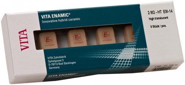 VITA ENAMIC® - Packung 5 Stück Gr. EM-14, 2M2-HT von VITA